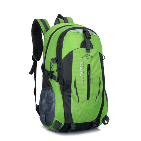 Nylon Waterproof Travel Backpacks for Climbing, Travel, Sport, School or Backpacking