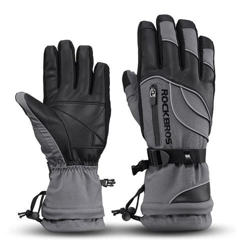 -40 Degree Winter Cycling Gloves Thermal Waterproof Windproof Mtb Bike Gloves