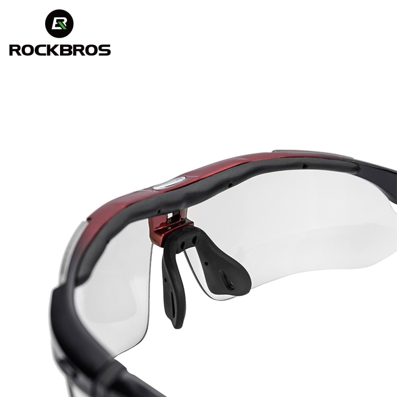 ROCKBROS Polarized Cycling Glasses Men Sports Sunglasses Road MTB Mountain Bike Bicycle Riding