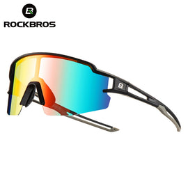 ROCKBROS Sport Photochromic Polarized Glasses Cycling Eyewear Bicycle Glass MTB Bike Bicycle
