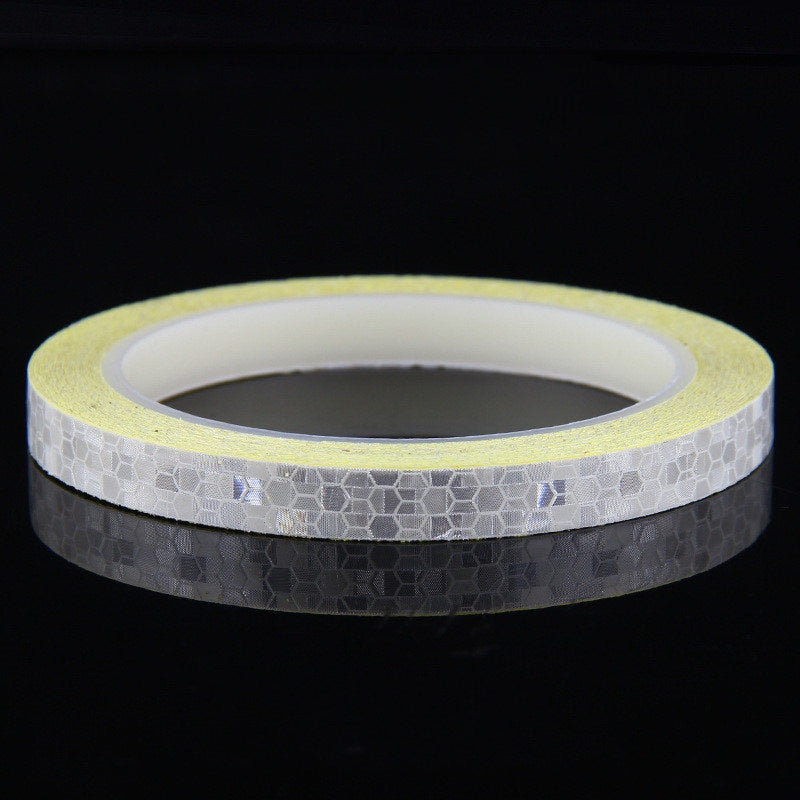 Reflective Tape Fluorescent MTB Bike Bicycle Cycling MTB Reflective Stickers Adhesive Tape Bike