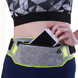 Running Bag Waterproof Running Waist Bag Fanny Pack Men Women Jogging Belt bag Gym Fitness Bag Sport