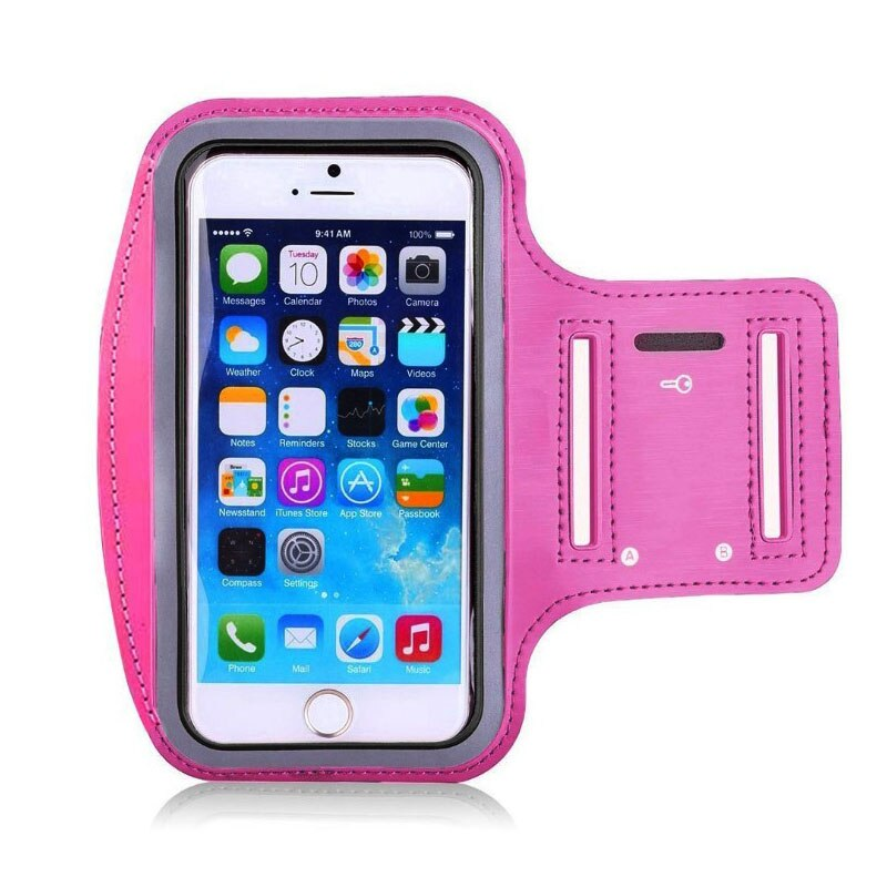 Running Bags Men Women Armbands Touch Screen Cell Phone Arms Band Phone Case Sports Accessories