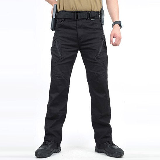 S.archon IX9 Men City Tactical Pants Multi Pockets Cargo Pants Military Combat Cotton Pant SWAT Army