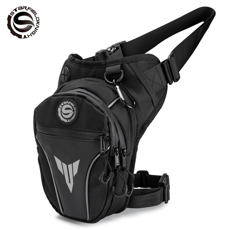 SFK Oxford cloth waterproof leg bag waist bag straddle bag motorcycle riding outdoor sports portable