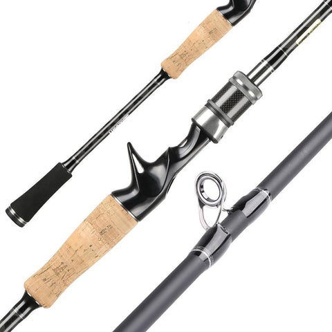 SeaKnight Falcon 1.98M 2.1M 2.4M Fishing Rod 2 Tips UL/L/ML/M/MH Power 2 Sections Carbon Rod Spinning Casting Rod Fishing Tackle