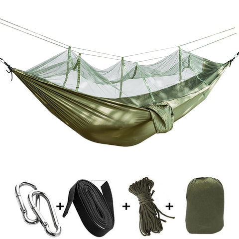 Ultralight Bug Net Hammock Tent Mosquito Outdoor гамаки Backpacking Travel Camping Double Rede