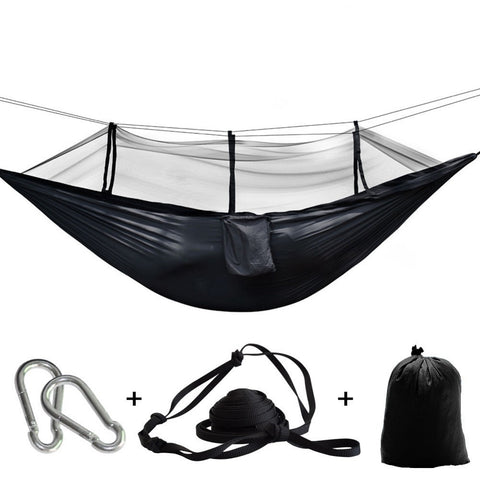 Ultralight Bug Net Hammock Tent Mosquito Outdoor Backyard Hiking Backpacking Travel Camping Double