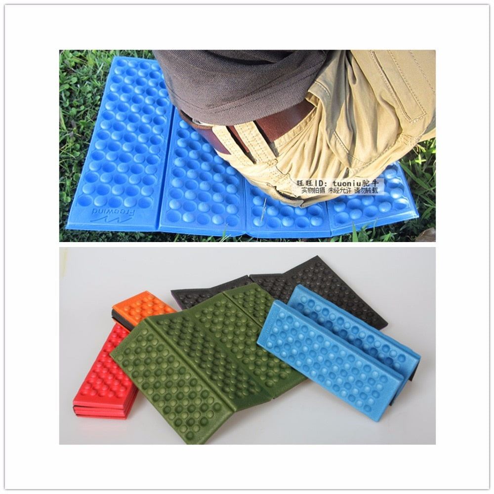 VILEAD 5 Colors Outdoor Folding XPE Waterproof Camping Mat Picnic Damp Proof Sitting Mat Cushion
