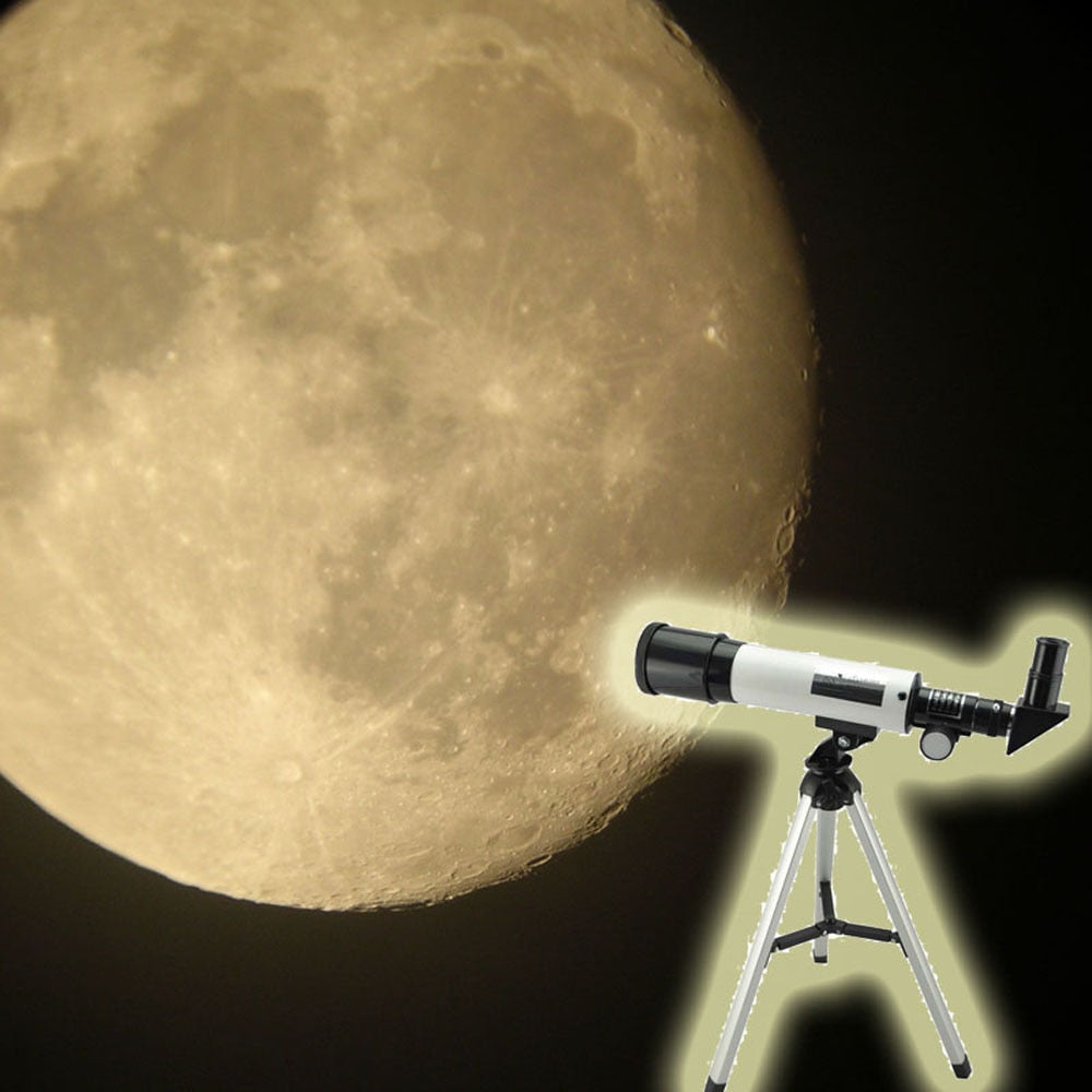 Visionking Refraction 360X50 Astronomical Telescope With Portable Tripod Sky Monocular Telescopio