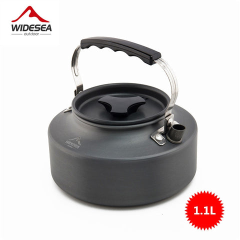 Widesea Camping cookware Outdoor cookware set camping tableware cooking set travel tableware Cutlery