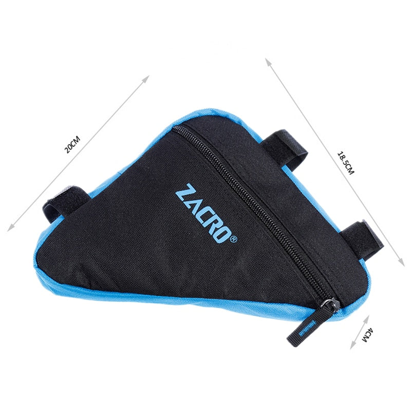 Zacro Bike Bicycle Cycling Bag Front Tube Frame Phone Waterproof Bicycle Bags Triangle Pouch Frame Holder Bycicle Accessories