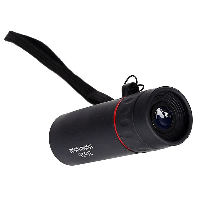 Zacro High Definition Monocular Telescope 30X25 Waterproof Mini Portable Military Zoom 10X Scope For