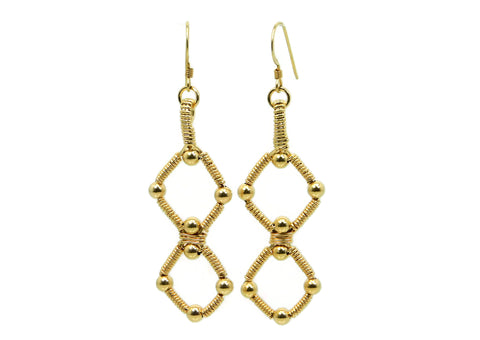14kt Gold Fill Double Profile Earrings