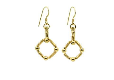 14kt Gold Fill Single Profile Earrings