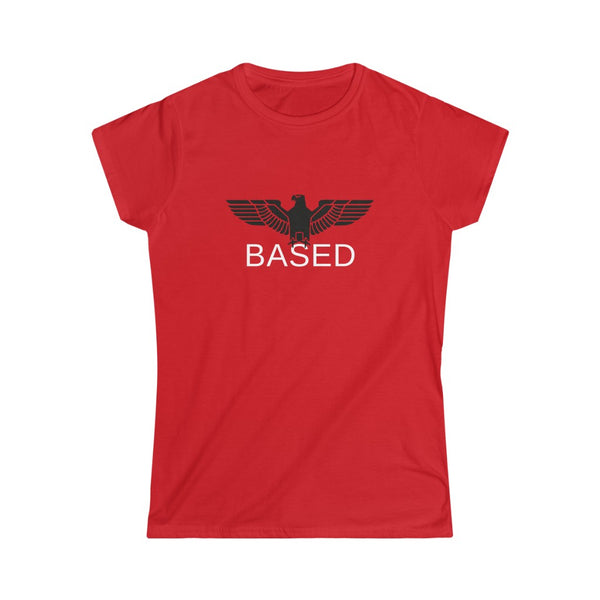 Based Eagle | Naisten lady fit t-paita (S-2XL)