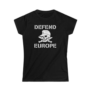Defend Europe | Naisten lady fit T-paita