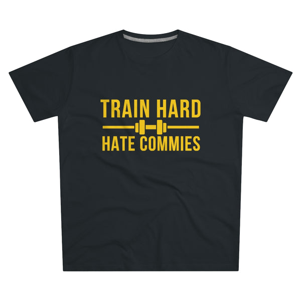 Train Hard - Hate Commies | T-paita (S-5XL)