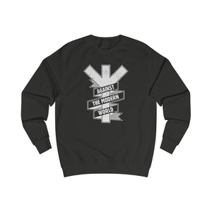 Against the modern world | Miesten college (S-2XL)