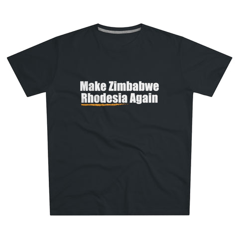 Make Zimbabwe Rhodesia Again | T-paita (S-5XL)
