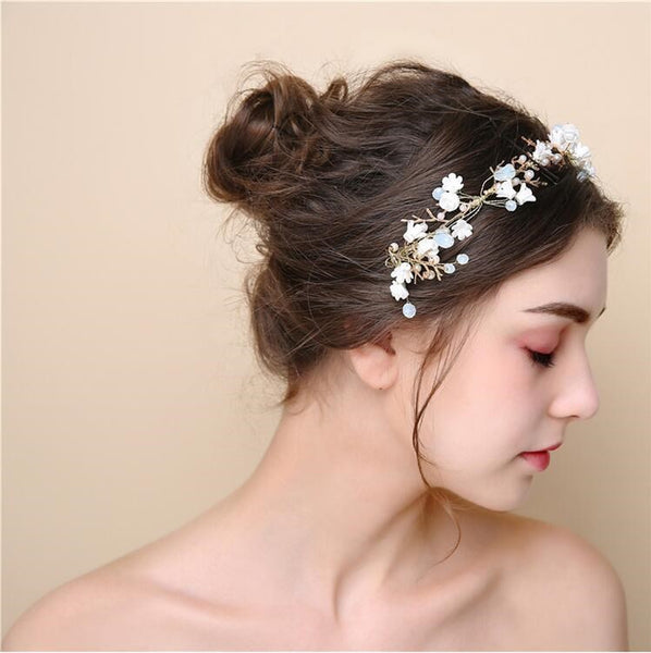 Newest Handmade Rhinestones Bridal Headpiece, Bridal Headpieces, VB0582