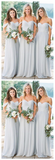 Mismatched Different Styles Chiffon Sexy A-Line Floor-Length Cheap Bridesmaid Dresses, VB0306