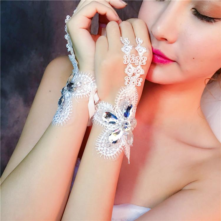 White Bridal Lace Wedding Gloves,Bridal Fingerless Lace Wedding Gloves,Bridal Accessories, TYP0549