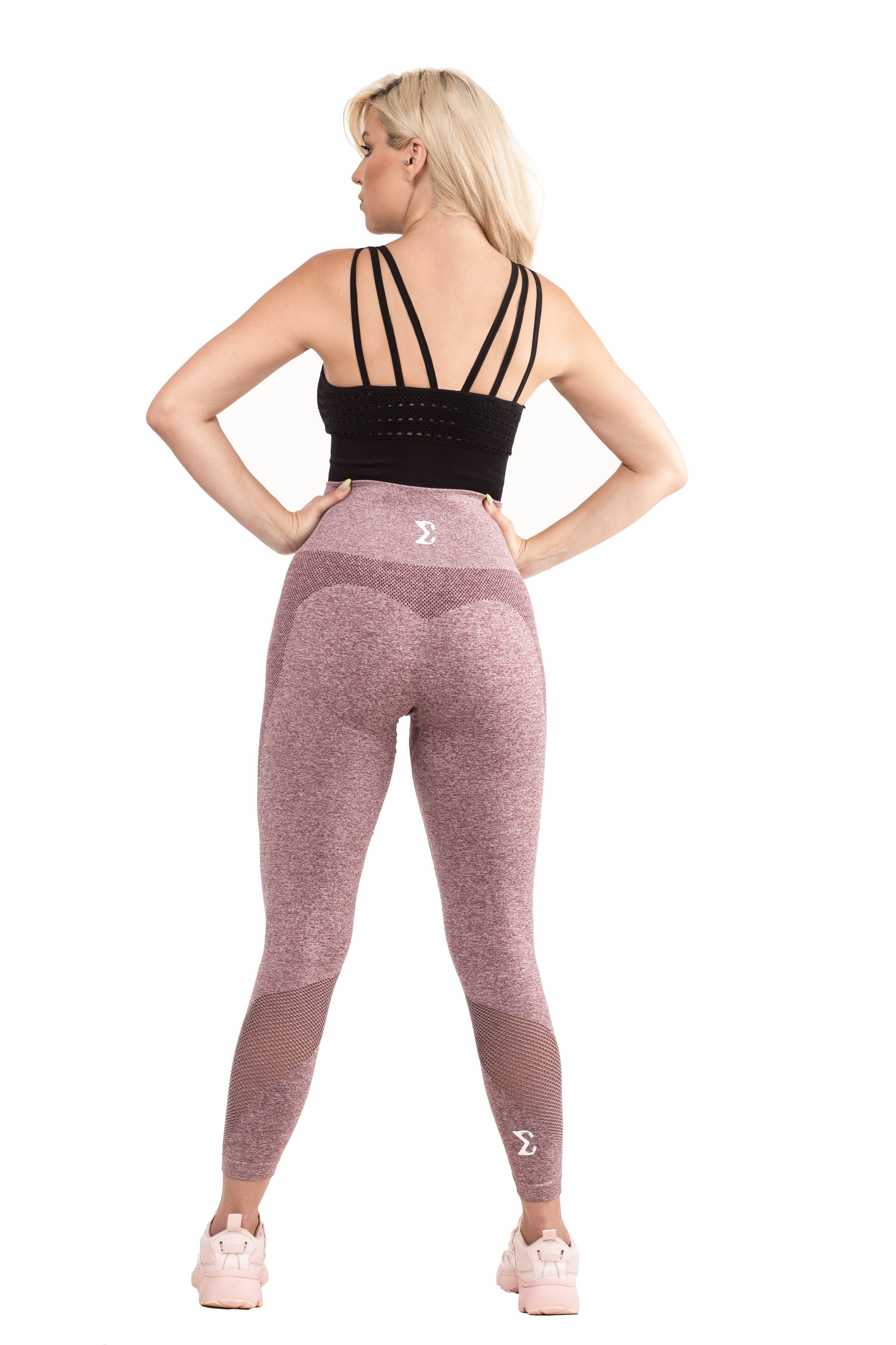 Flex Leggings (Maroon)
