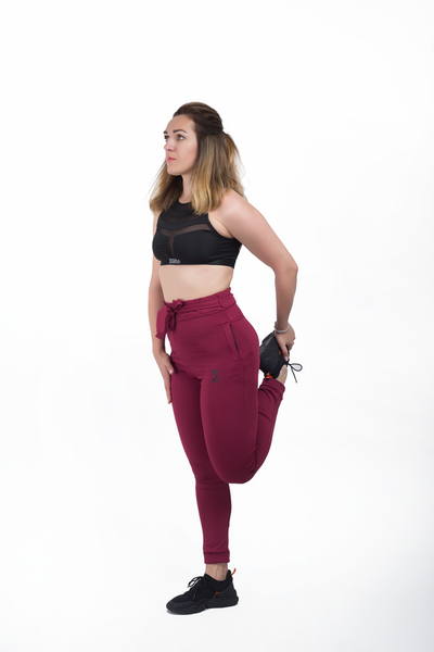 Do-Knot Jogger Pants (Maroon)