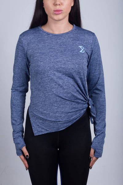 Long Sleeve Shirt (Silver Blue) - Sigma Fit