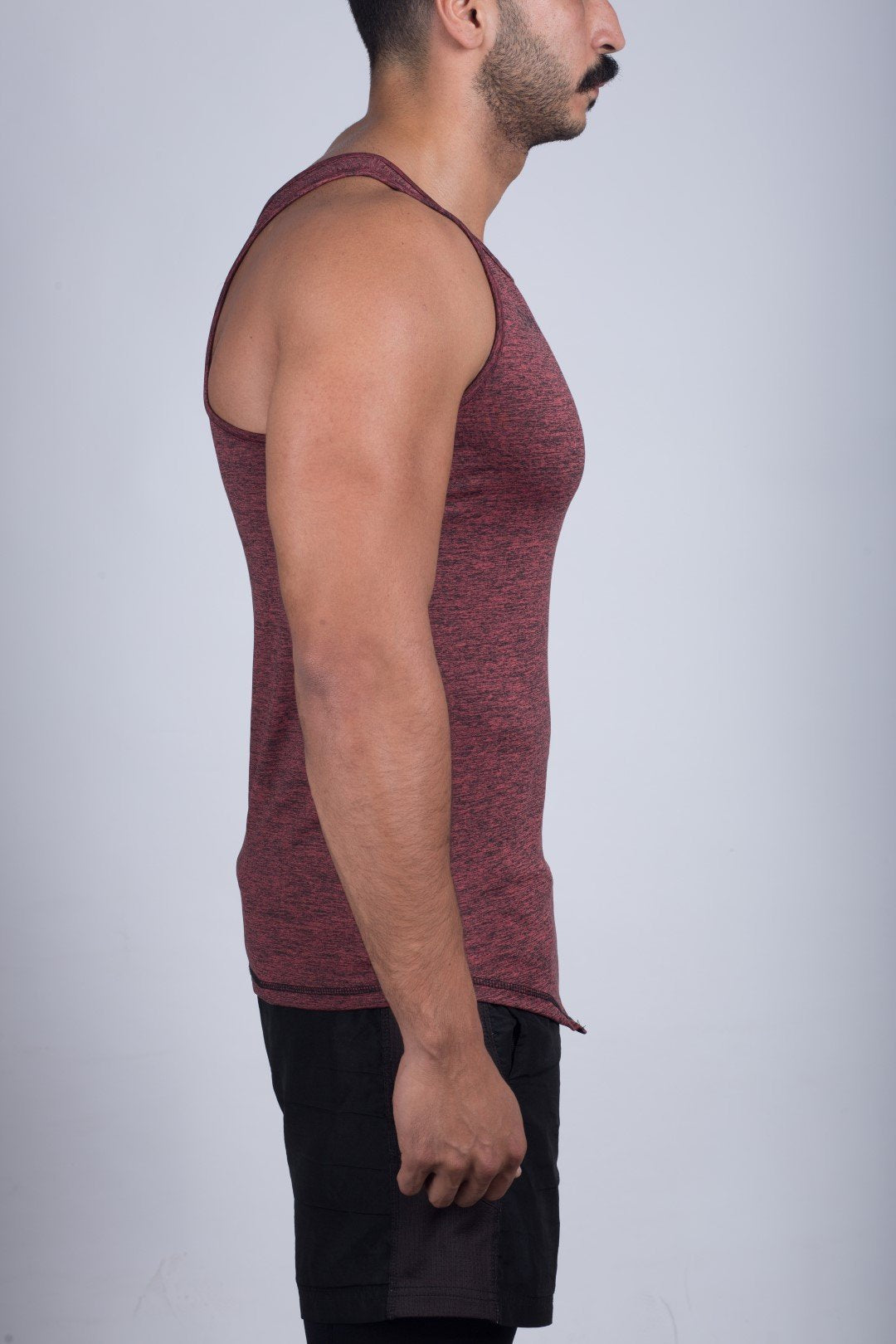 Muscle Shirt (Fire Brick) - Sigma Fit