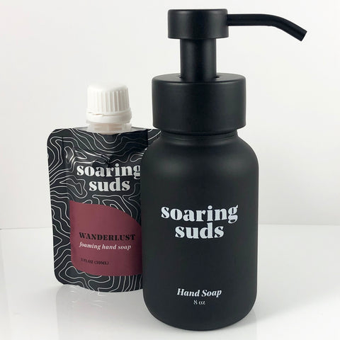 Foaming Liquid Hand Soap Set-Wanderlust