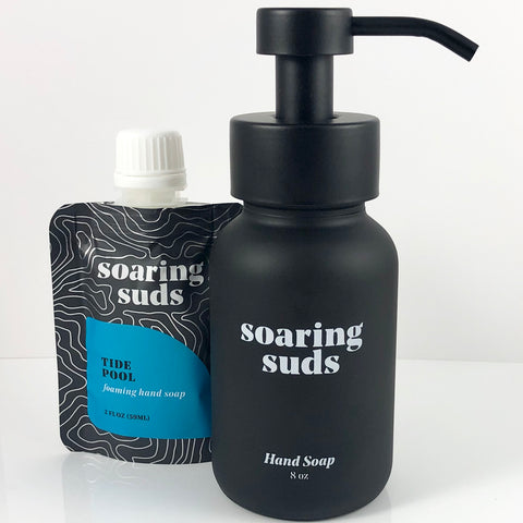Foaming Liquid Hand Soap Set-Tide Pool