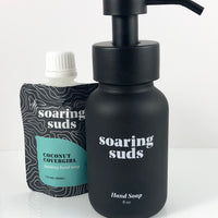 Foaming Liquid Hand Soap Set-Coconut Covergirl