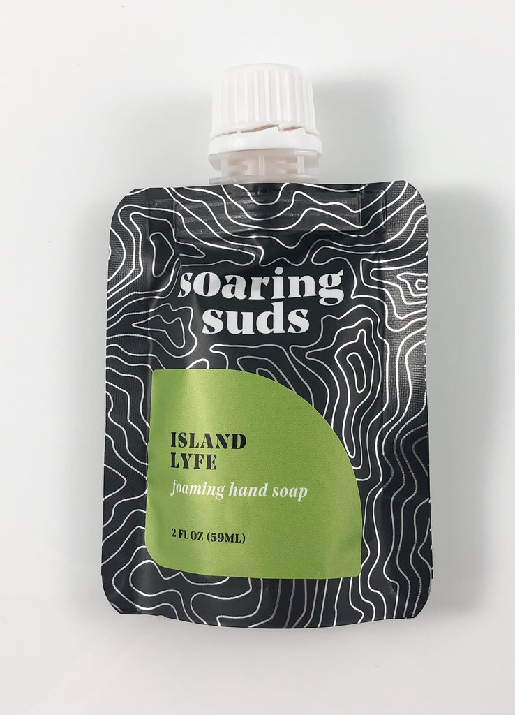 Foaming Liquid Hand Soap Refill-Island Lyfe