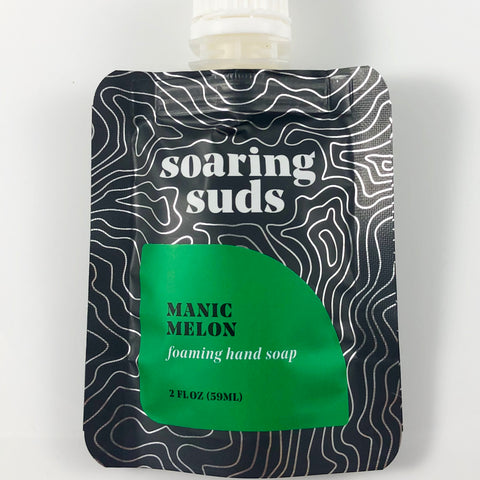 Foaming Liquid Hand Soap Refill-Manic Melon