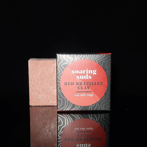 Red Brazilian Clay Spa Bar
