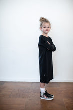 Fabrikid Lil Lady Oh Baby Dress Black - Ready To Send