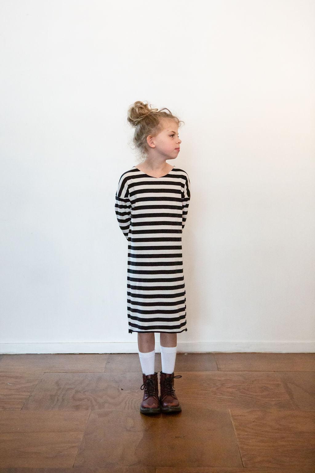 Fabrikid Lil Lady Oh Baby Dress Stripes