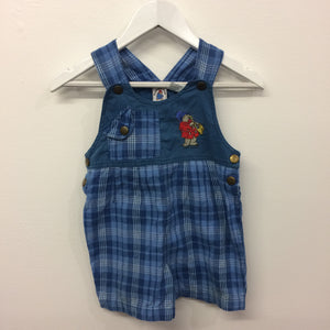 Vintage Paddington Bear Short Overalls 1 Year