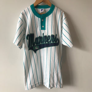 Deadstock Seattle Mariners Baseball Henley Youth Small