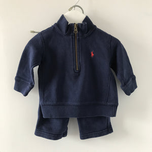 RL Polo Tracksuit Set 9 Months Navy Blue