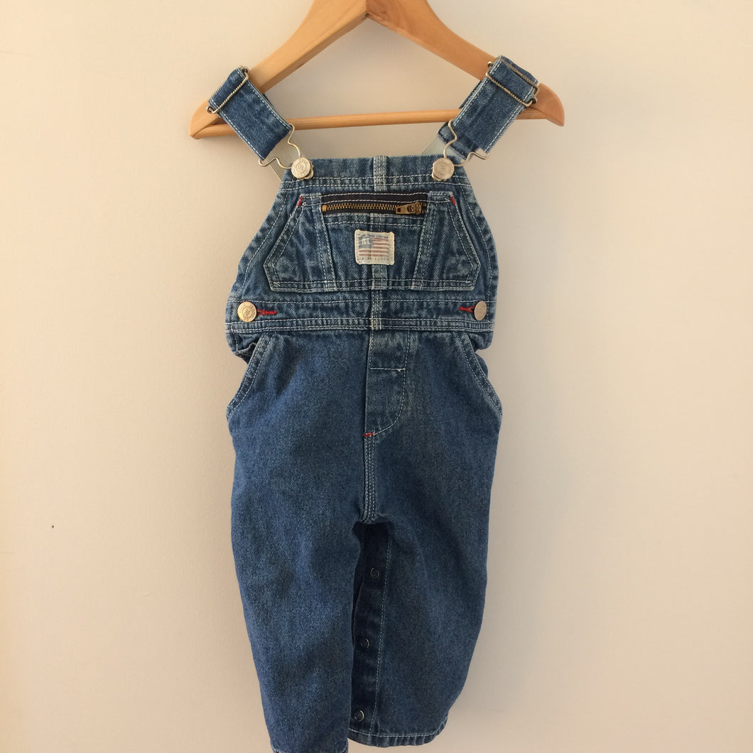 Rare Vintage RL Polo Overalls 6-12 Months