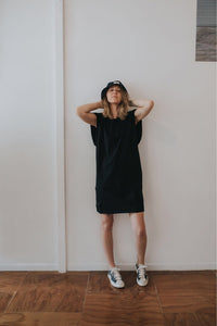 Fabrik8 Beach Box Dress Black