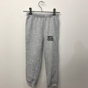B.M.C.S Emb Track Pants Grey 1-5 Years