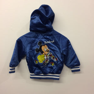 "Rare Hooded Vintage Chalk Line ""Pittsburgh"" Mickey Jacket 2 Years"
