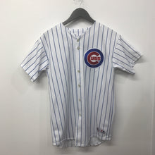 Vintage Majestic Chicago Cubs Button Down Youth XL