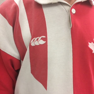 1993 Canterbury Canada Rugby Jersey Men's XL