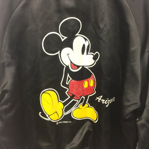 Vintage 1980's Mickey Mouse Chalk Line Jacket 14-16 Years