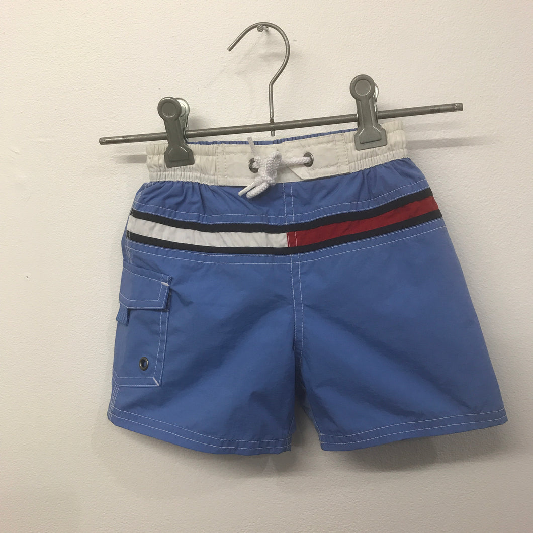 Tommy Flag Swim Shorts 12-18 Months